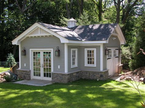 Superb Guest Cottage Plans Small #5: Traditional-garage.jpg