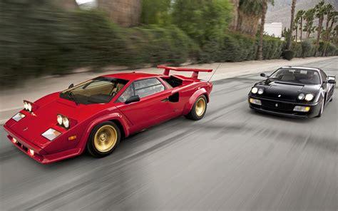 Power Wheels Lamborghini Countach Lambo Power Gt Motor Trend Testarossa Vs