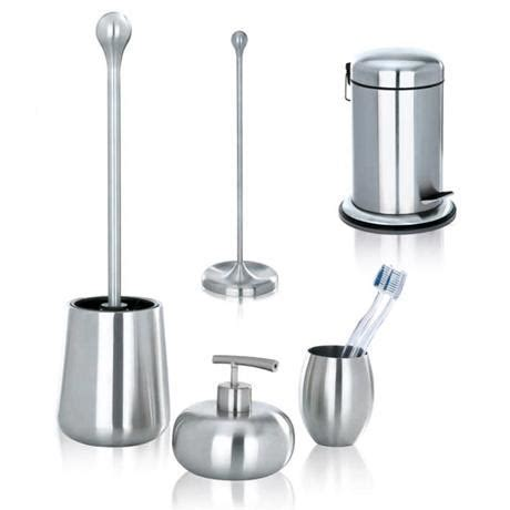 bathroom accessories stainless steel wenko bathroom accessories set plumbing co uk