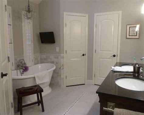 master bath remodel  sherwin williams repose gray