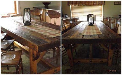 Dining Table Barn Door Barn Door Dining Table Home Ideas 2016