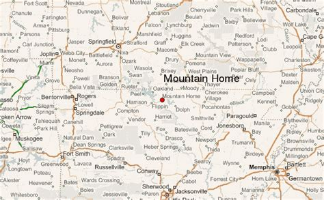 mountain home arkansas location guide