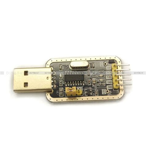 Kit Rs232 Converter Serial To Ttl Chip R Kode Fd10477 ch340g usb rs232 ttl microcontroller stc15f104w converter