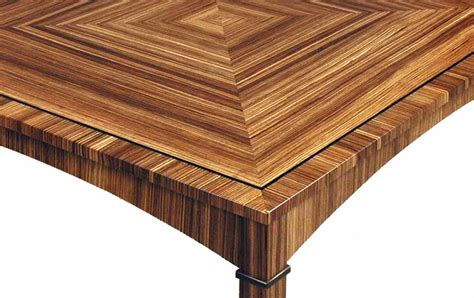 zebra wood table dorset custom furniture a woodworkers photo journal the