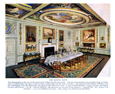 dolls house windsor quot queen mary s dolls house quot quot the queen s dolls house quot windsor castle 1924