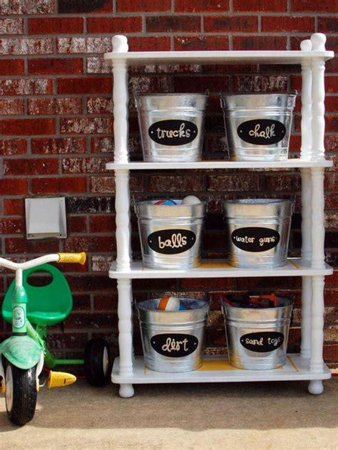 kids organization garage storage keep kids stuff in check hgtv