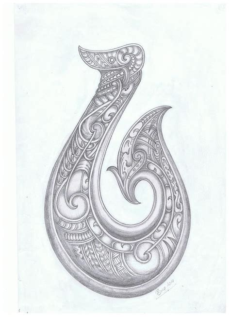 hawaiian tribal fish hook tattoo hei matau fish hook idea tribal hawaiian