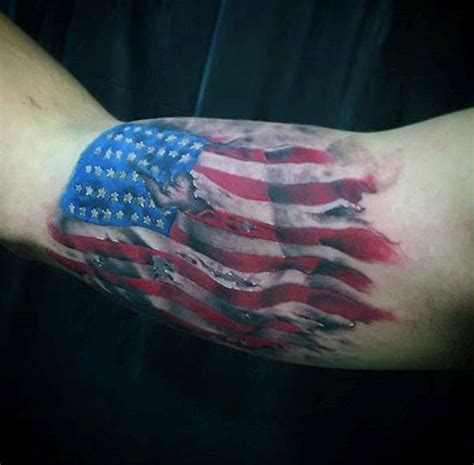 american flag back tattoos top 60 best american flag tattoos for usa designs