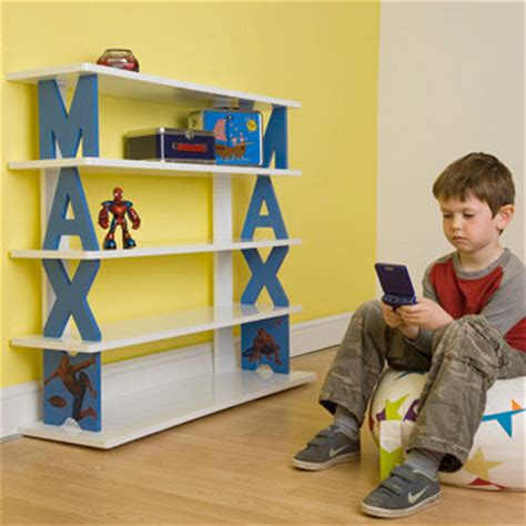 Personalized Baby Bookshelf Personalized Bookshelves Eclectic Children S Bookcases