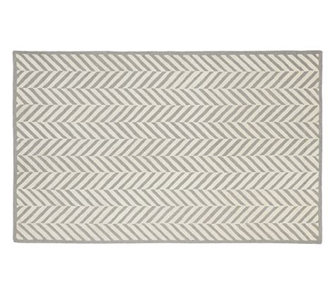 Pottery Barn Herringbone Rug Herringbone Rug Gray 8x10 Pottery Barn