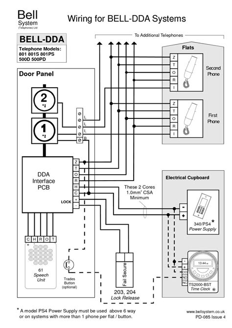 door access wiring diagram dejual