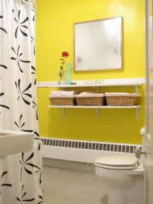 Yellow Bathroom Decorating Ideas by Simple Yellow Bathroom Decorating Ideas Home Improvement