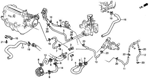 identifying coolant hose honda tech honda forum discussion
