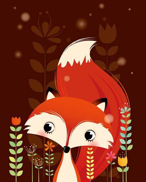 kinderzimmer zeichnungen bilder a set of woodland animals on behance illustration in
