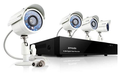 the hi tech clear zmodo security dvr kit smile