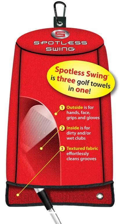 spotless swing golf towel new product spotlight spotless swing golf towel