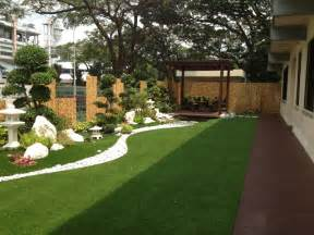private artificial grass for garden balcony or
