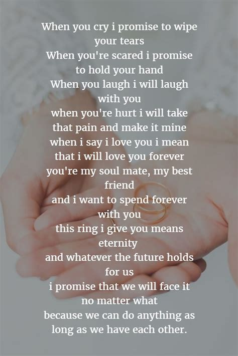 125 best Wedding Vows images on Pinterest   Wedding