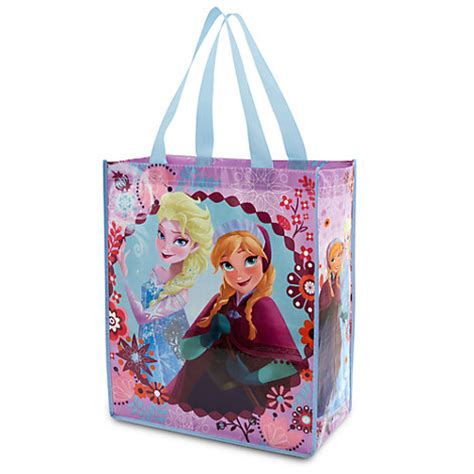 Murahfrozen Backpack Original Disney Usa frozen elsa reusable tote eco gift bag nwt disney store 2014 ebay