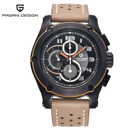 pagani design genuine watches analog quartz multi