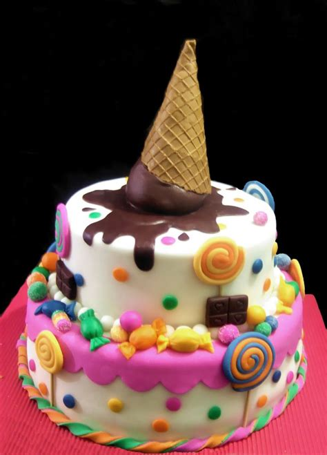 Super Cute For A Little  Ee   S Ee    Ee  Cake Ee   Cakes Pinterest