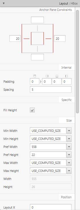 layout inspector job description 9 defining properties in the inspector panel release 2