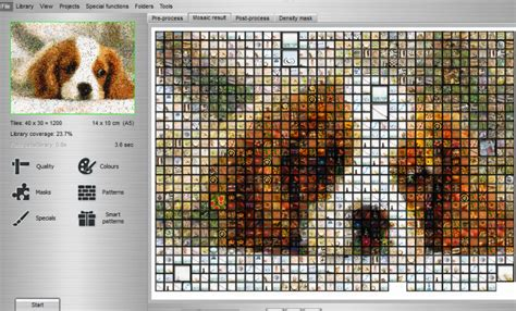 mosaic pattern generator 13 best free mosaic maker software for windows
