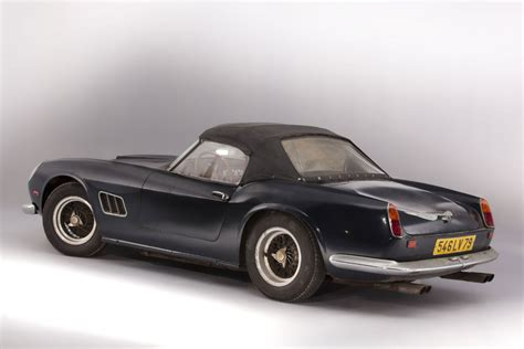rare ferrari rare ferrari 250gt california spider owned by alain delon