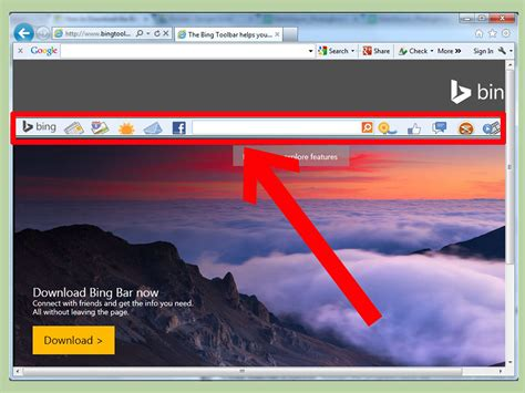 bing bar download how to download the bing bar 10 steps with pictures