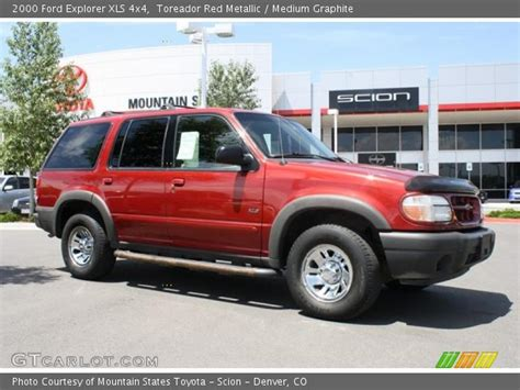 2000 ford explorer xls toreador metallic 2000 ford explorer xls 4x4