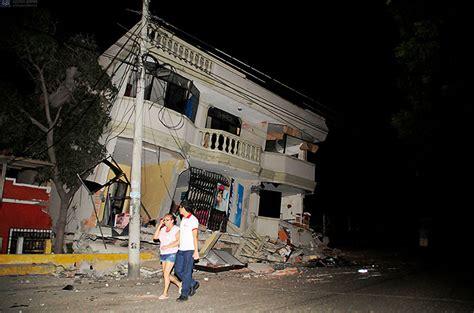imagenes fuertes terremoto ecuador quot es el temblor m 225 s fuerte sentido en ecuador desde 1979