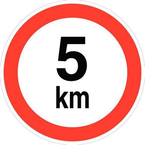 From To 5km by Pictogramme De Limitation De La Vitesse 224 5 Km H
