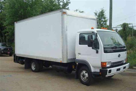 nissan van 2007 nissan ud 1300 2007 van box trucks
