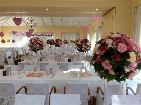 Blumendekoration Hochzeit by Hochzeit Blumen Kaiser