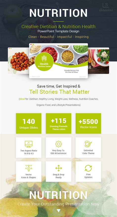 nutrition powerpoint template powerpoint templates nutrition image collections