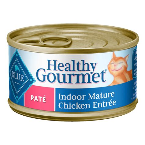 blue buffalo senior food blue buffalo healthy gourmet chicken pate indoor canned