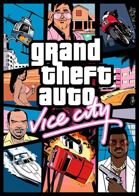 Grand Theft Auto Vice City by Grand Theft Auto Vice City Grand Theft Auto