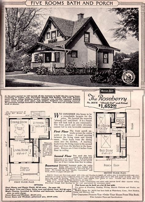 craftsman style bungalow 1923 sears kit house roseberry
