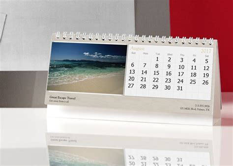 Calendar 2018 For Desk Custom 2017 Desk Calendars Photo Desk Calendars Vistaprint