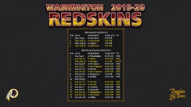 washington redskins wallpaper schedule
