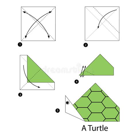 printable origami turtle instructions step by step instructions how to make origami turtle