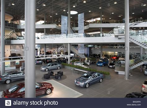mercedes showroom mercedes showroom stuttgart germany architect unknown