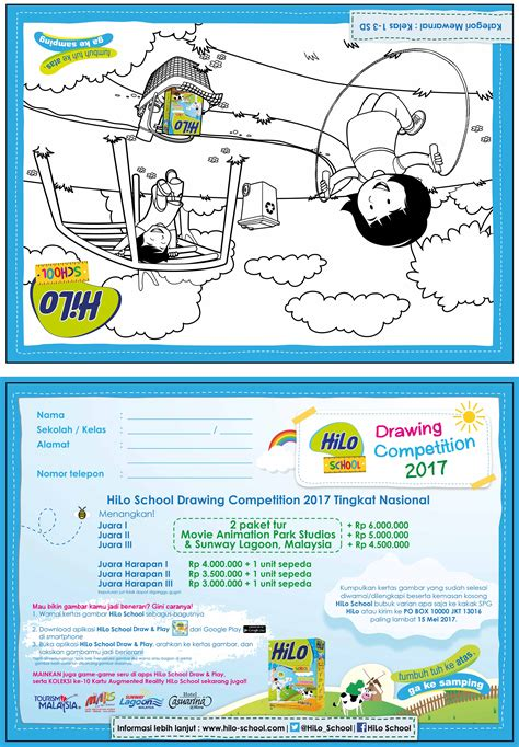 Hilo School Yang Kecil Hilo School Drawing Competition 2017 Tingkat Nasional