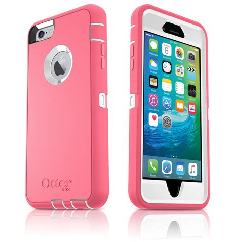 otterbox defender iphone 6 6s plus 5 5 quot holster hibiscus pink white oem ebay
