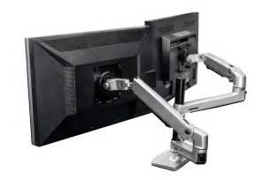 amazon com halter dual lcd adjustable monitor stand