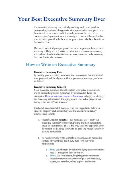 executive summary example art resume vibiraem
