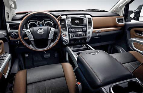 2016 Nissan Titan Xd Interior | 2016 nissan titan xd platinum reserve interior 355509