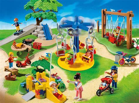 swing life login playmobil set 5024 children s playground klickypedia