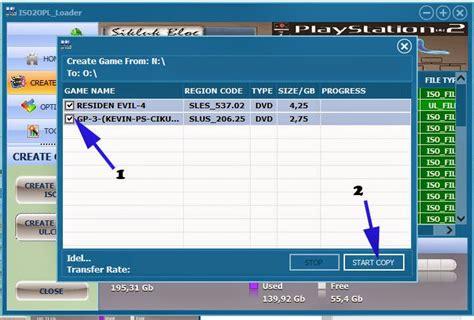 Hardisk Flashdisk Ps2 cara instal ke usb flashdisk atau hardisk ps2 opl dengan iso2opl loader v1 0 11 sikluk