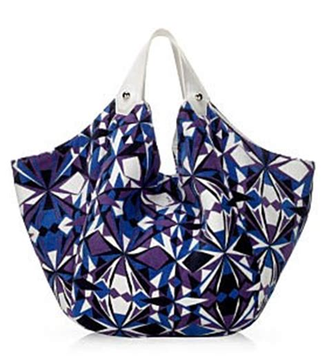 Pucci Terry Tote by Emilio Pucci Alessandro Terry Bag Purseblog